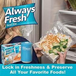 Συσκευή αεροστεγούς σφραγίσματος τροφίμων κενού αέρος-Always Fresh Vacuum Food Sealer