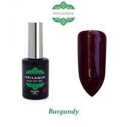 Burgundy Ημιμόνιμο Βερνίκι ORILAQUE - R21