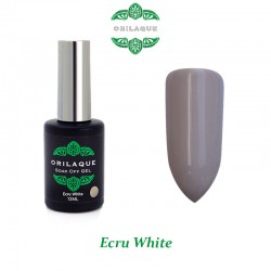 Ecru White Ημιμόνιμο Βερνίκι ORILAQUE - Pa17