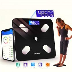 Ηλεκτρονική Ζυγαριά Λιπομετρητής με Bluetooth και Εφαρμογή Κινητού
