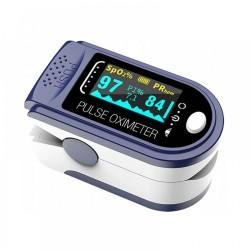 Combo A22  Παλμικό Οξύμετρο Δακτύλου με LED Οθόνη & Ψηφιακό Ιατρικό Θερμόμετρο & Πιεσόμετρο Με Οθόνη & Δώρο Πρακτικός Οργανωτής Χαπιών & Δώρο Μάσκες Προστασίας 50τμχ.