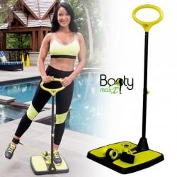 Μηχάνημα Εκγύμνασης Ποδιών & Γλουτιαίων με Λάστιχα - Σμίλευσης Σώματος - Booty Max Resistance Technology