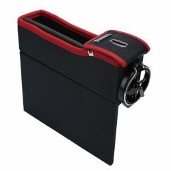 Θήκη αποθήκευσης αυτοκινήτου με ποτηροθήκη & κουμπαρά TH-POT249