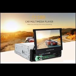 Αναδιπλούμενη οθόνη αφής 1din multimedia player BT FM USB SD MP5 Player AM-ANA365