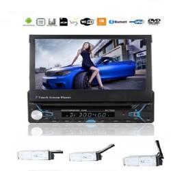 Αναδιπλούμενη Οθόνη 1din Αυτοκινήτου 7 Android GPS DVD BLUETOOTH AM-ANAM65