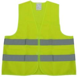 Ανακλαστικό Γιλέκο Εργασίας Κίτρινο-Πορτοκαλί AM-ANAN107