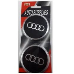 Αυτοκόλλητα Ζάντας Audi 7cm - Σετ 4τμχ AM-AUTD77
