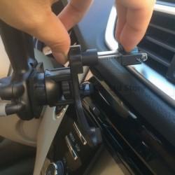 Βάση Κινητού Αυτοκινήτου Universal Αεραγωγού AM-BASS15