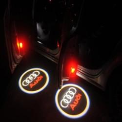 Φωτάκι Πόρτας με Λογότυπο AUDI σετ 2τμχ AM-FOTF113