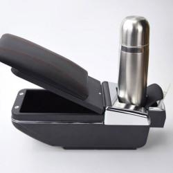 Κονσόλα χειρόφρενου - universal τεμπέλης αυτοκινήτου με ποτηροθήκη και σταχτοδοχείο AM-KON035