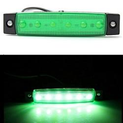 Led όγκου πράσινο 12v - 1τμχ AM-LEDB124