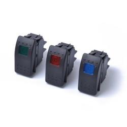 Led διακόπτης θέσης ON/OFF 12-24v 20A 4pin AM-LEDI85