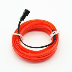 Led Καλώδιο Διακοσμητικό Κόκκινο 2m AM-LEDV82