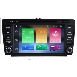 GPS OCTAVIA 5 05>12 8inc ANDROID 9 / 8core OEM AM-LMX005