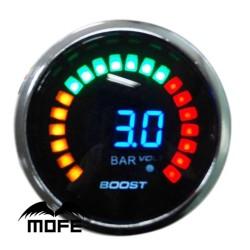 Μπαρόμετρο KET GAUGE 52mm 20 LCD 3 bar Turbo Boost AM-MPAY92
