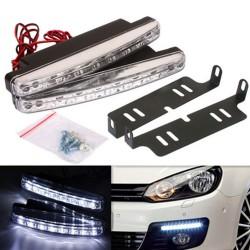 Προβολάκια - Φώτα Ημέρας Αυτοκινήτου LED Daytime Running Lights WJD LED-240 AM-PROQ47