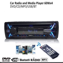 Ράδιο USB / Cd-Dvd / Bluetooth / Aux-In / MP3 / FM 1din 4x60W AM-RADG76
