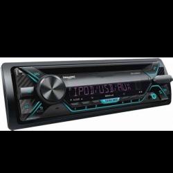 Ράδιο USB / Cd-Dvd / Bluetooth / Aux-In / MP3 / FM 1din 4x55W AM-RADU576