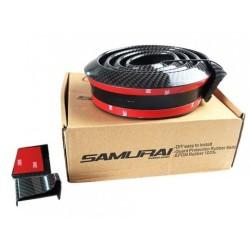 Samurai Universal Lip Spoiler Μαύρο Carbon 153cm x 3.5cm-Σπόϊλερ Αυτοκινήτου AM-SAM313