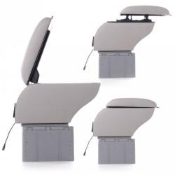Κονσόλα χειροφρένου - universal τεμπέλης αυτοκινήτου με USB και 3 θύρες αναπτήρα AM-TEMP292