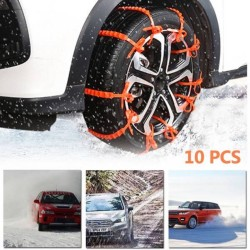 Universal Πλαστικές αλυσίδες χιονιού για το αυτοκίνητο - σετ 10τμχ AM-UNIT61