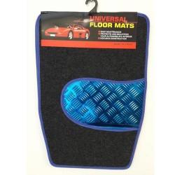 Πατάκια Αυτοκινήτου Universal Μπλε και Γκρι PAT-13