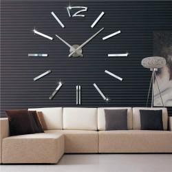 Ρολόι Τοίχου Mirror Hour Do It Yourself SS-G2420