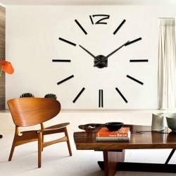 Ρολόι Τοίχου Hour Do It Yourself Black SS-G2420A