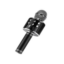 Ασύρματο Μικρόφωνο Bluetooth με Ενσωματωμένο Ηχείο & Karaoke – Μαύρο TH-1131