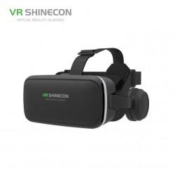 SHINECON 6 Generation G04E 3D VR Glasses Γυαλιά Εικονικής Πραγματικότητας με Ενσωματωμένα Ακουστικά για Smartphones 4 με 6 ιντσών